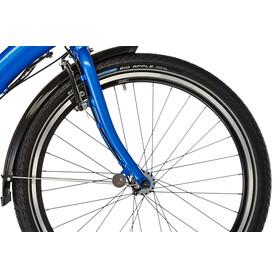 """tern Castro P7i Hopfällbar cykel 24"""" blå"""